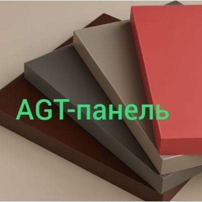 Кухни с фасадами  AGT-панель